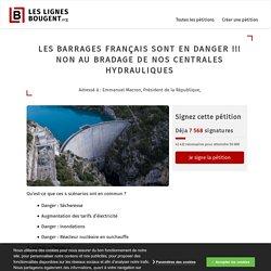 [Pétition] NON à la privatisation des barrages hydrauliques français !