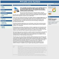 Privatix Live-System