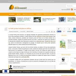 La forêt privée française en chiffres
