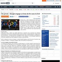 Vie privée : Google engage un bras de fer avec la Cnil