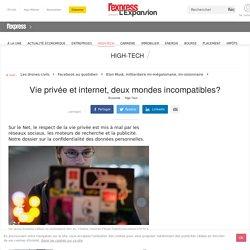 Vie privée et internet, deux mondes incompatibles?