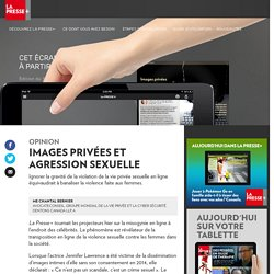 Images privées et agression sexuelle