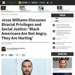 Jesse Williams Describes the Privileges That His Biracialness Affords Him, and How He Uses It to Help Black People