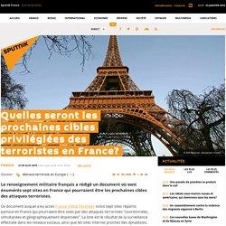 Quelles seront les prochaines cibles privilégiées des terroristes en France?