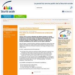 Prix 2015 du Comité d'histoire de la(...)