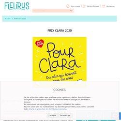 Prix Clara 2020 - Fleurus Éditions
