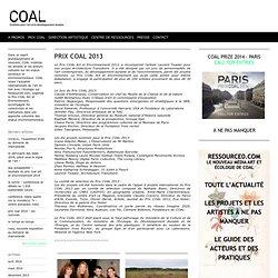 PRIX COAL 2013