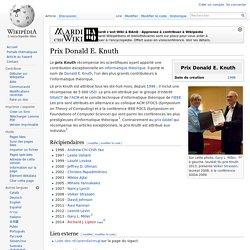 Prix Donald E. Knuth