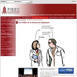 Prix FIEEC de la Recherche Appliquée