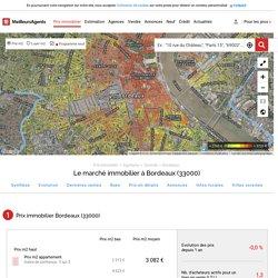 Prix immobilier Bordeaux (33000)