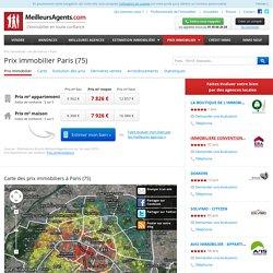 Prix immobilier Paris (75)