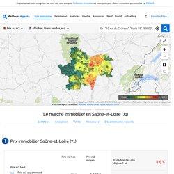 Prix immobilier Saône-et-Loire (71)