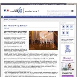 """Prix littéraire """"Coup de Cœur"""""""