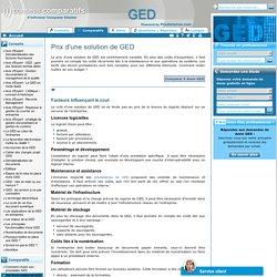 prix logiciel ged - ged prix