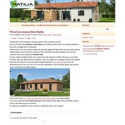 Prix d'une maison Bois Natilia - Ma maison bois avec Natilia Cholet (49)