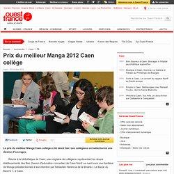 Prix du meilleur Manga 2012 Caen collège
