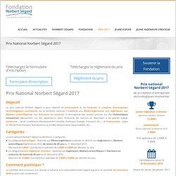 Prix nationaux Norbert Ségard 2017