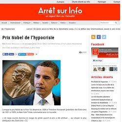 Prix Nobel de l'hypocrisie
