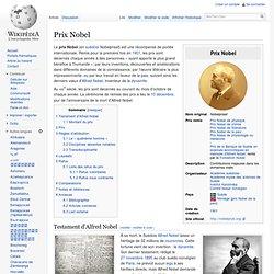 Prix Nobel