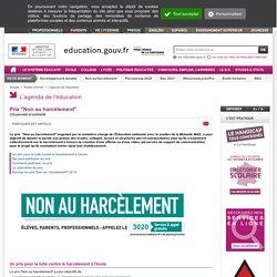 """Prix """"Non au harcèlement"""""""