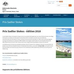 Prix Sadlier Stokes
