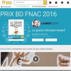Prix de la BD, la sélection 2016 des libraires – Fnac.com