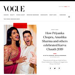 Bollywood Karva Chauth Pictures - Inside Bollywood Karwa Chauth 2019 at Vogue India