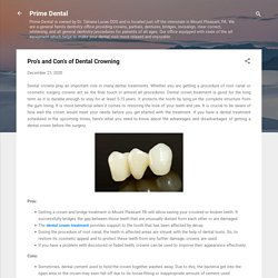 Pro's and Con's of Dental Crowning