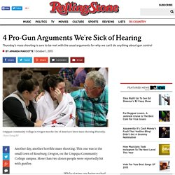 4 Pro-Gun Arguments We're Sick of Hearing