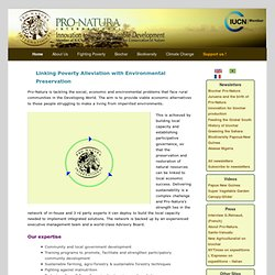 Pro-Natura International (PNI) - Homepage