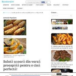 Salată ușoară din varză proaspătă pentru o cină perfectă! - Bucatarul.tv