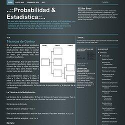 Probabilidad & Estadistica