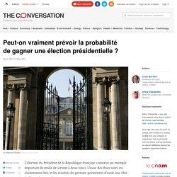 Peut-on vraiment prévoir la probabilité de gagner une élection présidentielle ?
