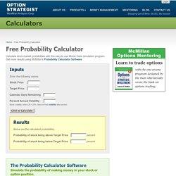 Free Probability Calculator