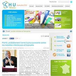 RESEAU CHU 03/05/11 Polmit, probablement l'arme la plus puissante contre les maladies infectieuses et tropicales