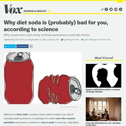 Why diet soda is (probably) bad for you, according to science