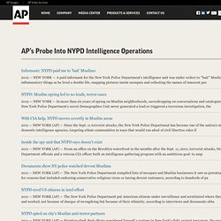 APs Probe Into NYPD Intelligence Operations