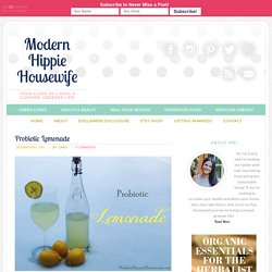 Probiotic Lemonade - Modern Hippie Housewife