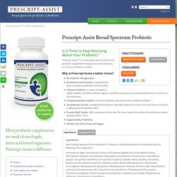 Probiotic Supplements by Prescript-Assist