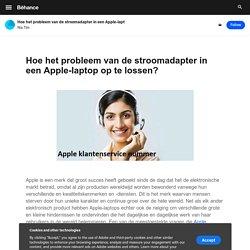 Hoe het probleem van de stroomadapter in een Apple-laptop op te lossen?