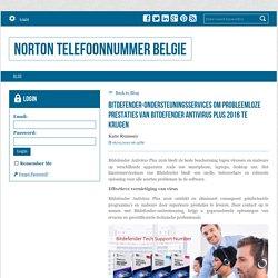 Bitdefender-ondersteuningsservices om probleemloze prestaties van Bitdefender Antivirus Plus 2016 te krijgen - Norton Telefoonnummer Belgie : powered by Doodlekit