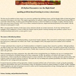 Problem-based Learning in Science