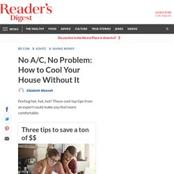 How to Cool Your House Without AC: 20 Tricks You Need to Try
