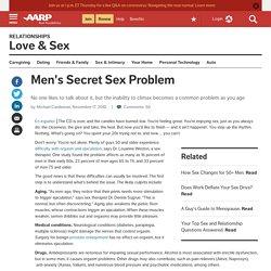 Older Men Sex Problem, Decline in Orgasm, Ejaculation - Men Sex Advice...