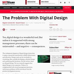 The Problem With Digital Design