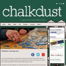 Problem solving 101 - Chalkdust