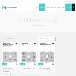 Problem Solving Archives