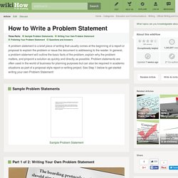 How to Write a Problem Statement: 6 Steps
