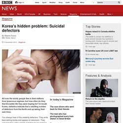 Korea's hidden problem: Suicidal defectors