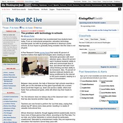 The problem with technology in schools - The Root DC Live